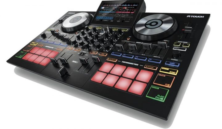 Reloop TOUCH side view