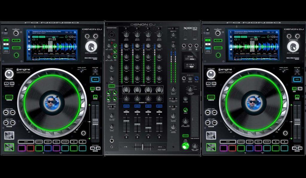 Denon DJ SC5000 Prime and X1800 Prime