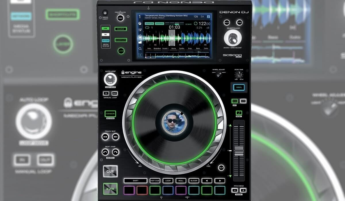 Denon DJ SC5000 Prime Media Player Review And Video %