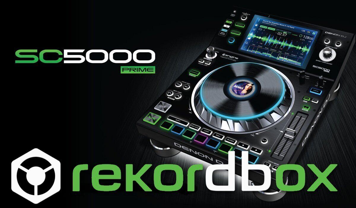 Denon DJ SC5000 Prime And Rekordbox
