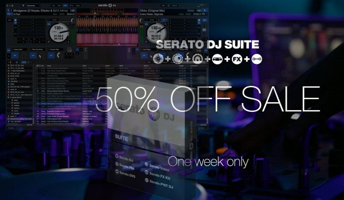 Serato DJ Black Friday