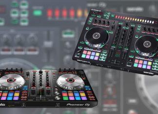 Pioneer DJ DDJ-SR2 contra el Roland DJ-505