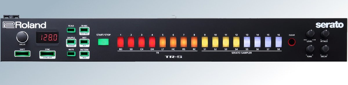 TR-S module on the DJ-505