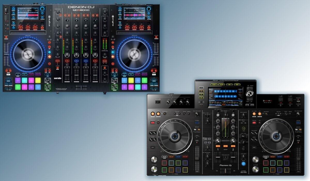 Denon DJ MCX8000 VS Pioneer DJ XDJ-RX2