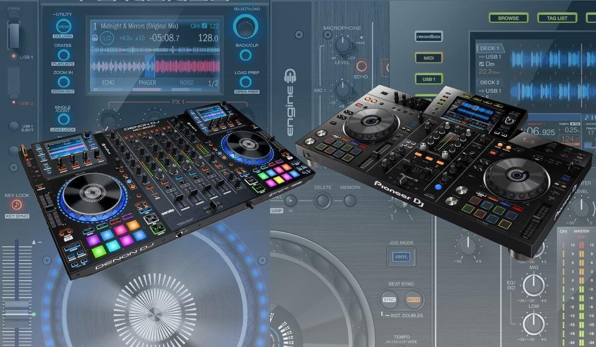 Denon DJ MCX8000, Pioneer DJ XDJ-RX2 Compared: Which One Is The Best?