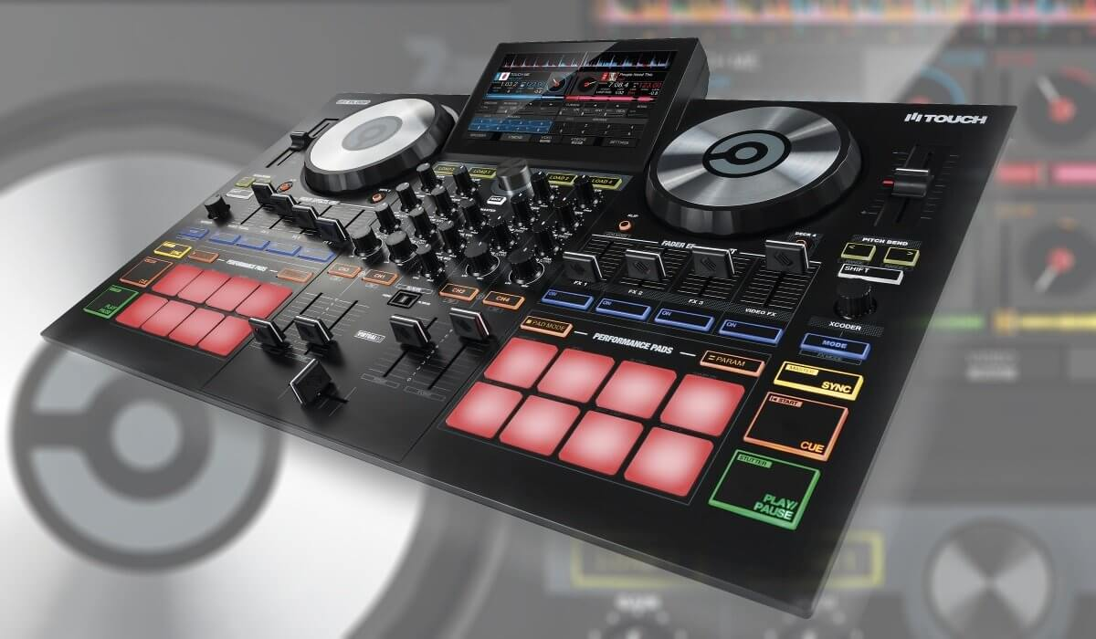 Reloop Touch Virtual DJ DJ Controller Review And Video