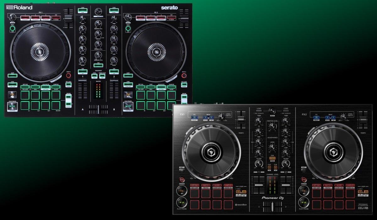 Pioneer DJ DDJ-RB versus Roland DJ DJ-202