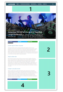 Ad spaces djtechzone