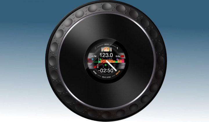 Pioneer DJ DDJ-1000 jog wheels
