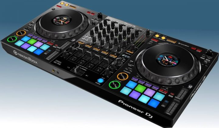 Pioneer DJ DDJ-1000 side view