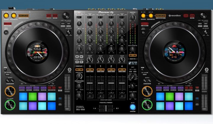 Pioneer DJ DDJ-1000 top view
