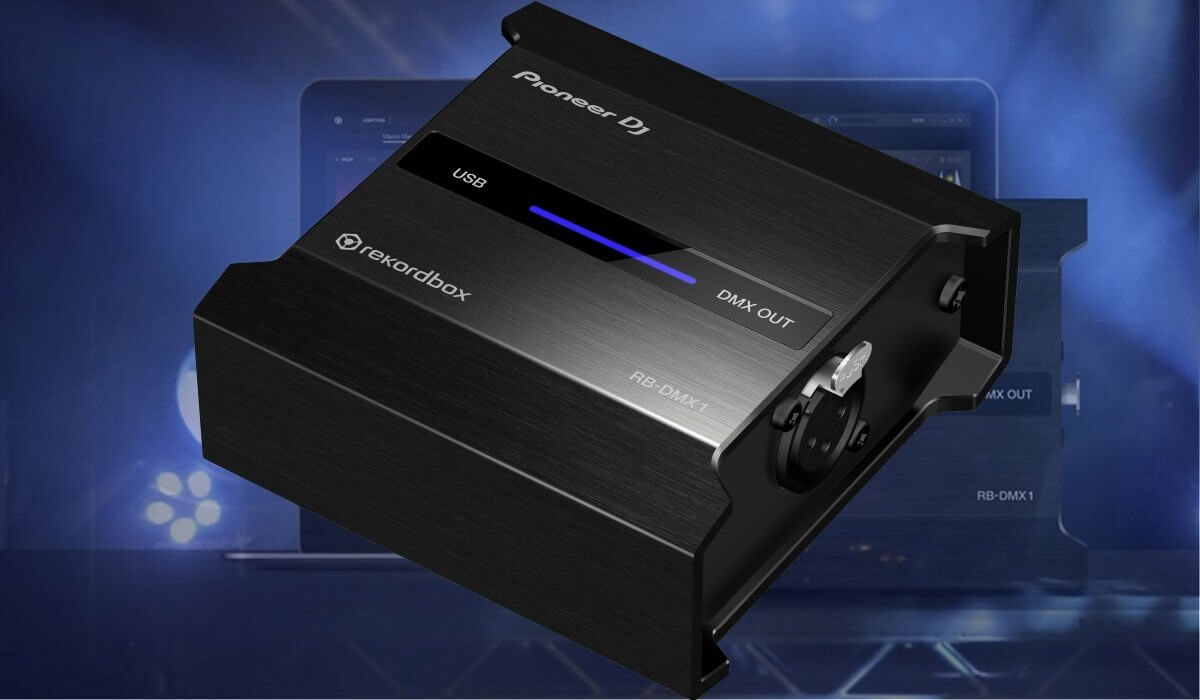 Pioneer DJ Launches RB-DMX1, Bringing Automated Lighting To