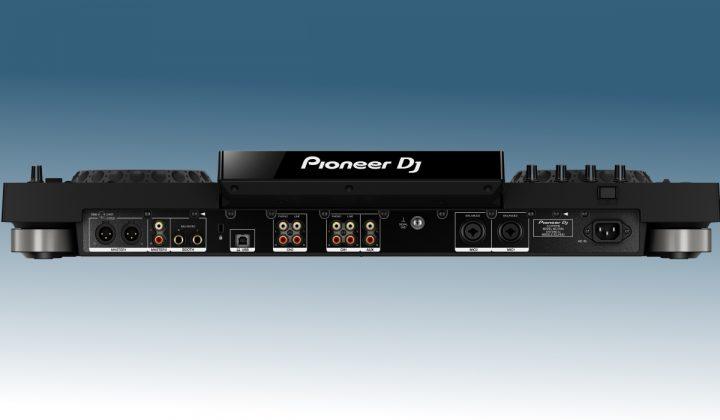Pioneer DJ XDJ-RX2 back view