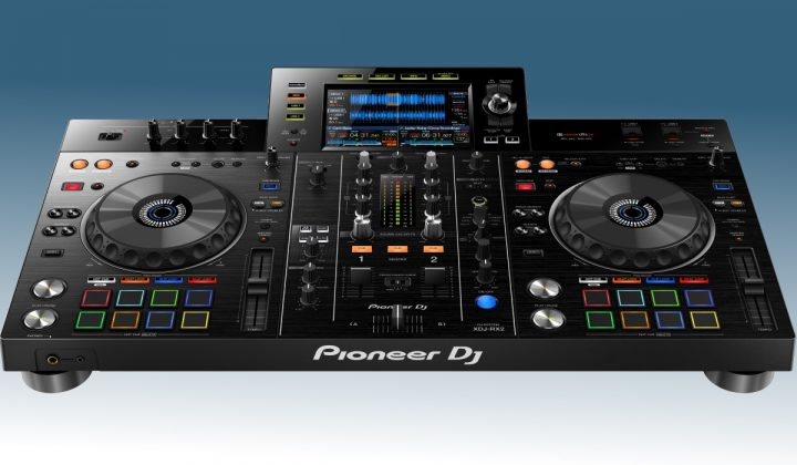 Pioneer DJ XDJ-RX2 front view
