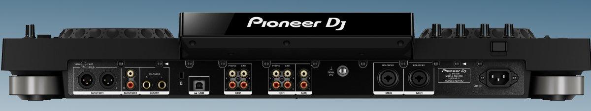 Pioneer DJ XDJ-RX2 inputs & outputs