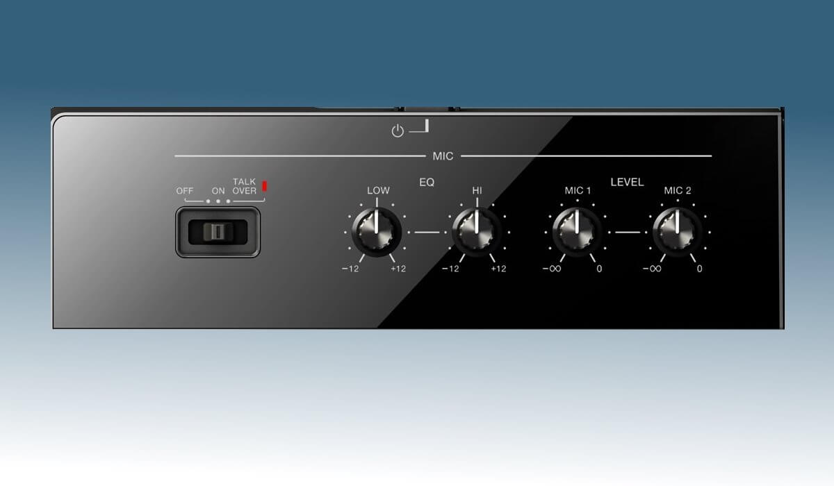 Pioneer DJ XDJ-RX2 microphone control