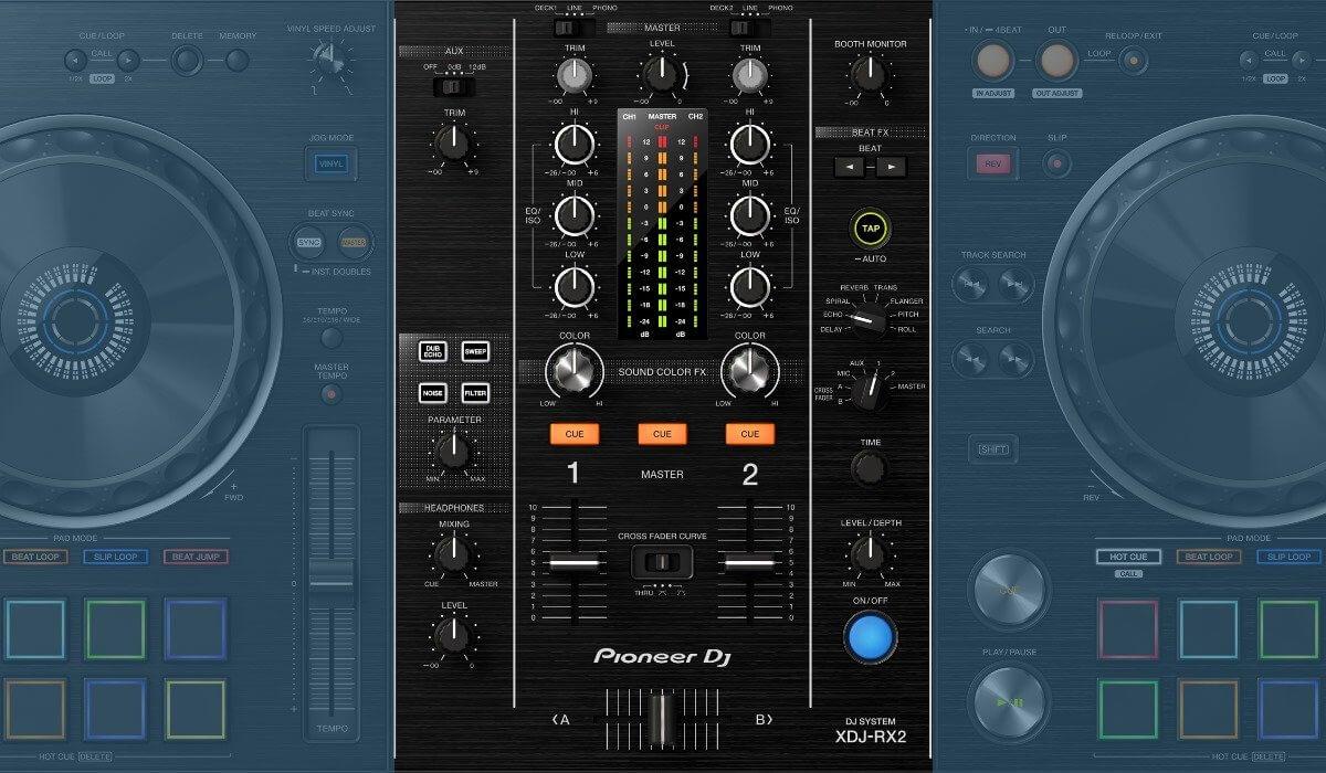 Pioneer DJ XDJ-RX2 mixer