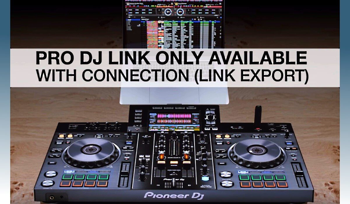 Pioneer DJ XDJ-RX2 pro dj link features