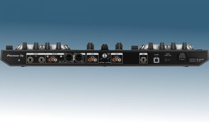 Pioneer DJ DDJ-SR2 rear view