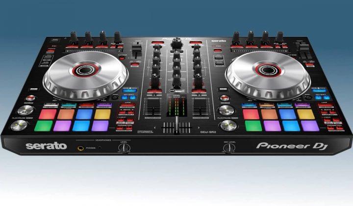 Pioneer DJ DDJ-SR2 front view