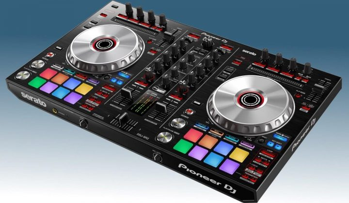 Pioneer DJ DDJ-SR2 side view