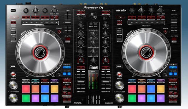 Pioneer DJ DDJ-SR2 top view