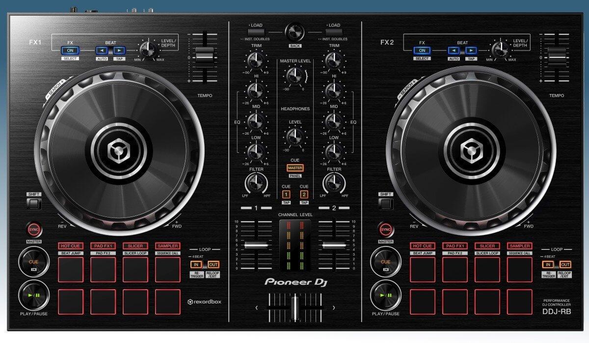 Pioneer DJ DDJ-RB top view