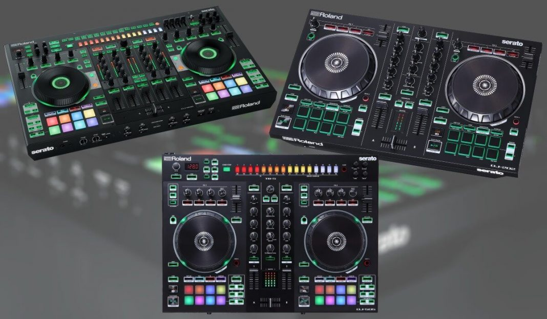 Roland new DJ controller firmware released