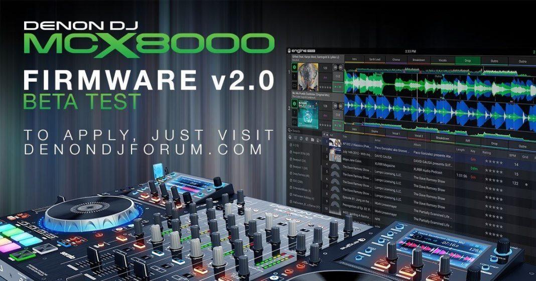 Denon DJ MCX8000 and Engine Prime Beta Test