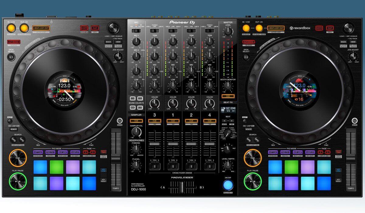 The Pioneer DJ DDJ-1000