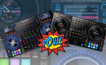 Denon DJ MCX8000 versus the Pioneer DJ DDJ-1000
