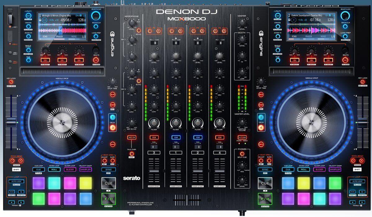 The Denon DJ MCX8000