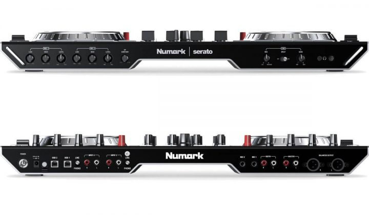 Numark NS6II front and back