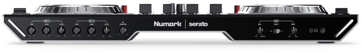 Numark NS6II front controls