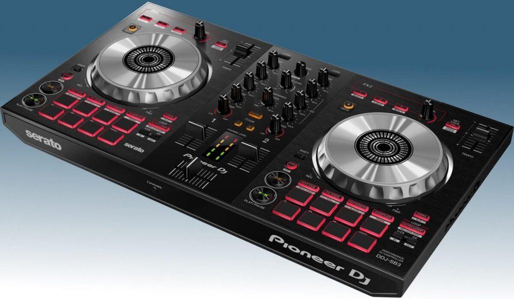 Pioneer DJ DD-SB3 side view