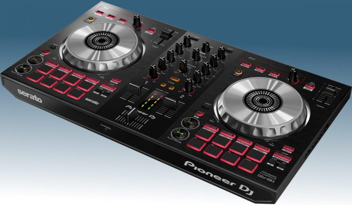 Pioneer DJ DD-SB3 side view