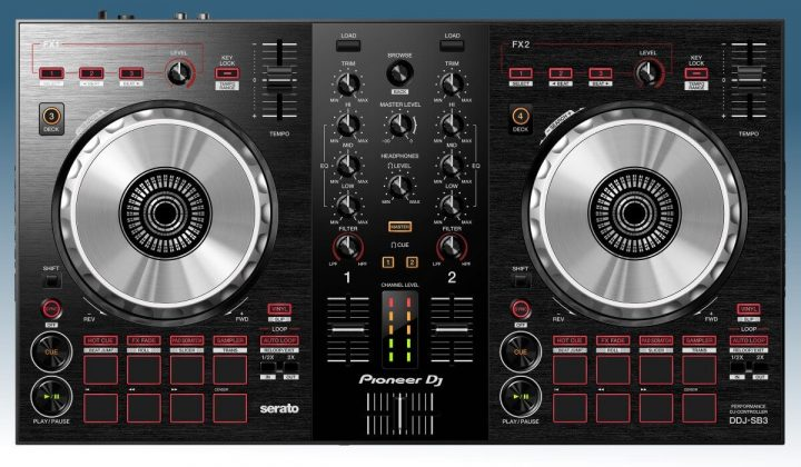 Pioneer DJ DD-SB3 front view
