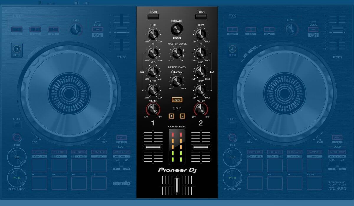 Pioneer DJ DDJ-SB3 mixer