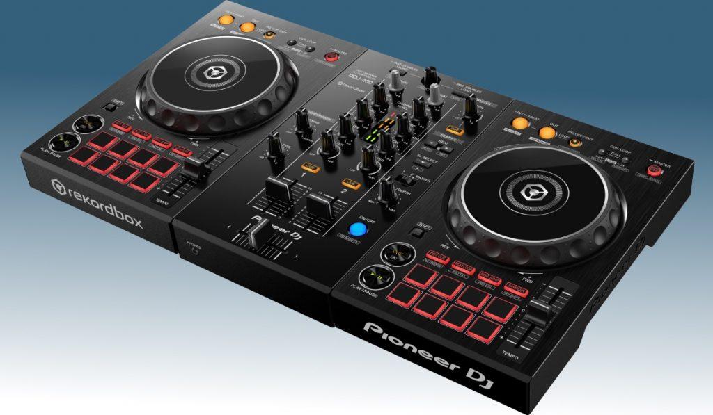 Pioneer DJ DDJ-400 side view