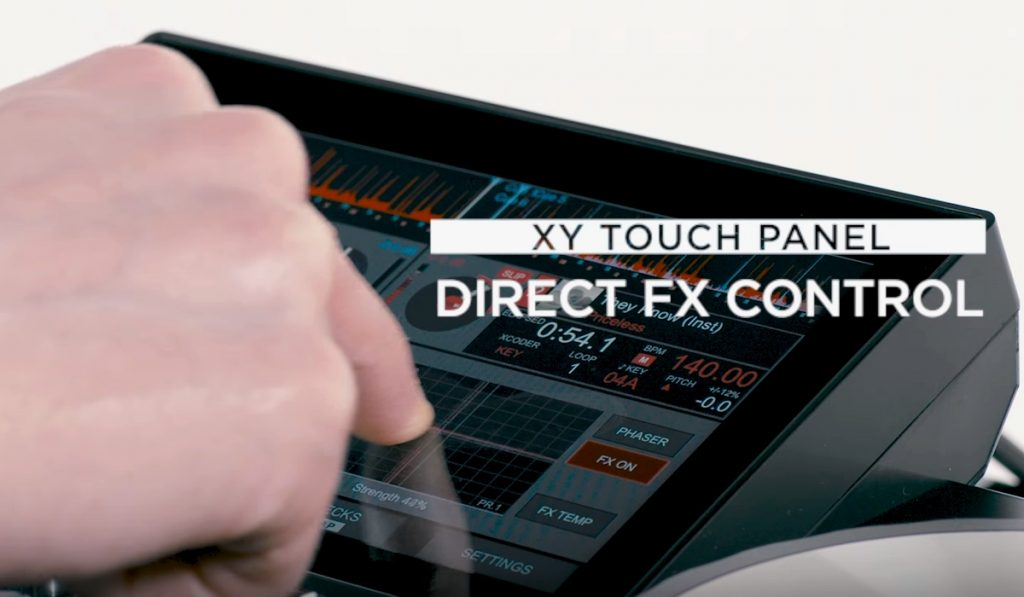 Reloop Touch X/Y Pad touch screen controls