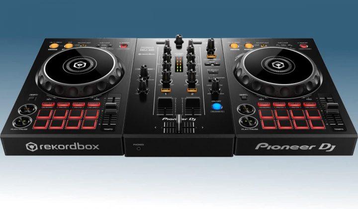 Pioneer DJ DDJ-400 front view