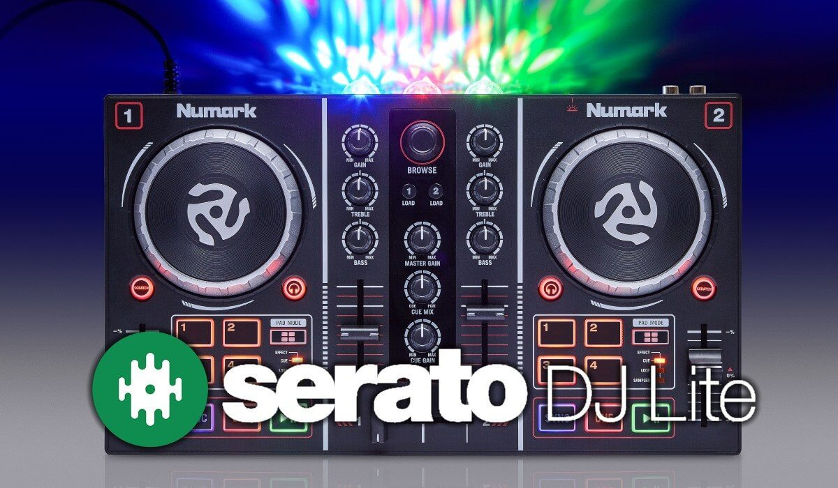 Numark Party Mix Now With Serato DJ Lite Right Out Of The Box!