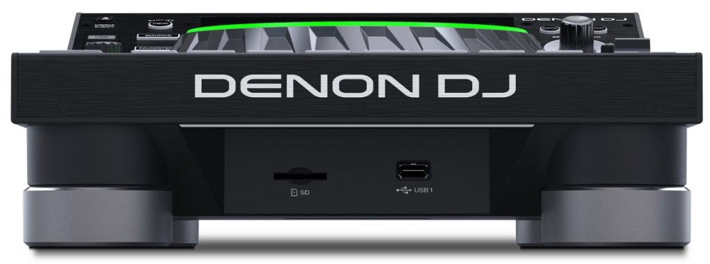 Denon DJ SC5000 media support