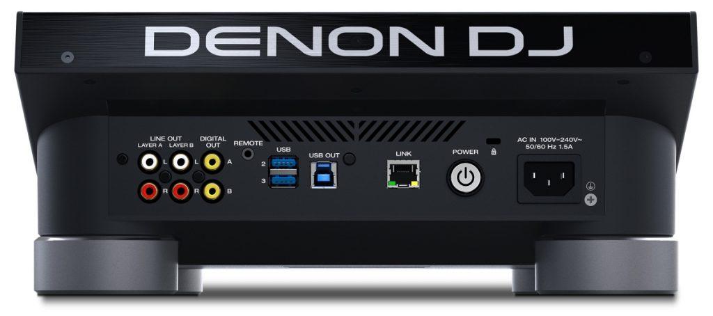 Denon DJ SC5000 Pime outputs overview