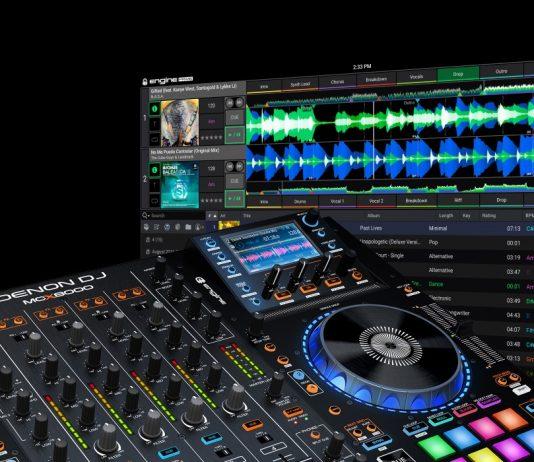 Denon DJ Engine Prime compatible with MCX8000