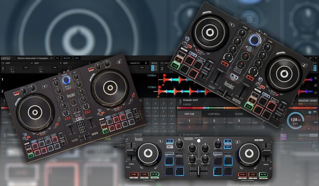 New hercules control & software releases!