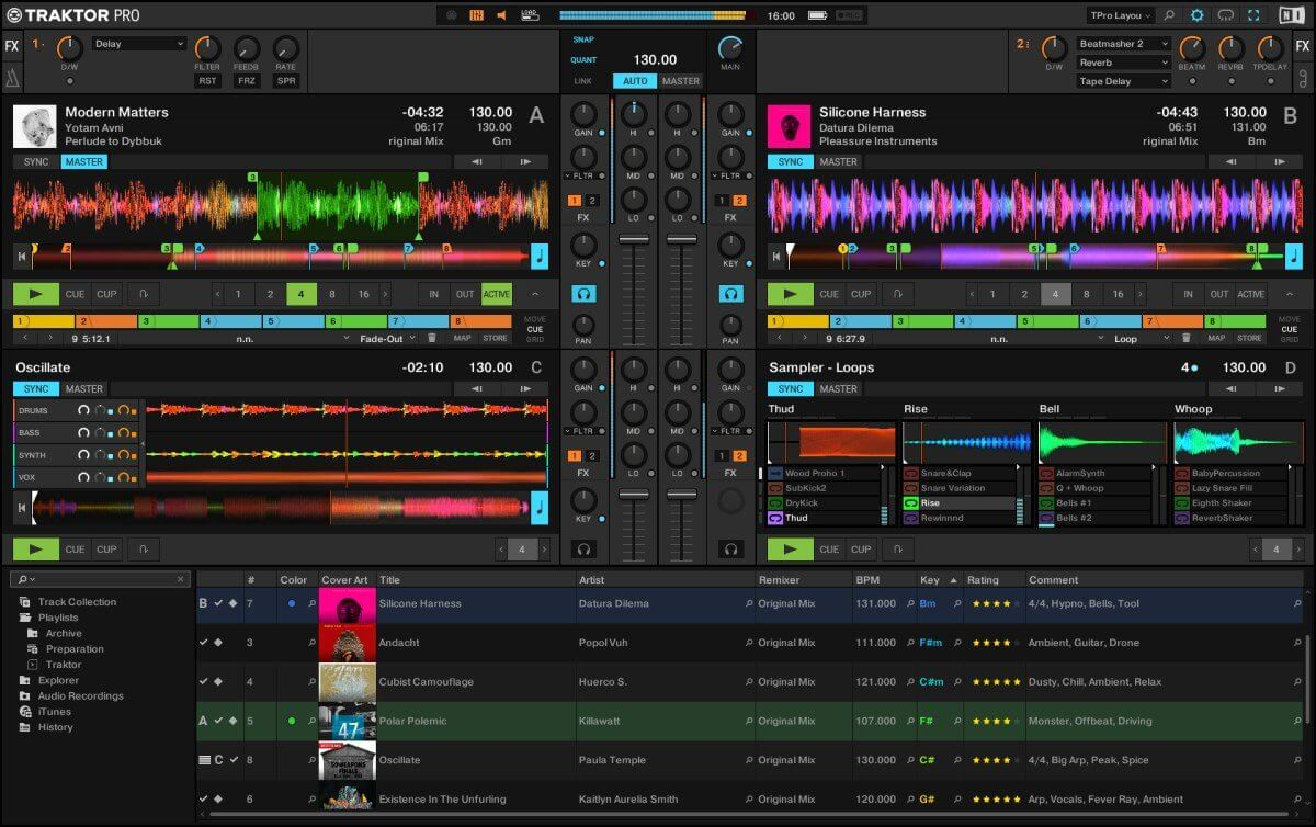 Traktor Pro 3 main screen
