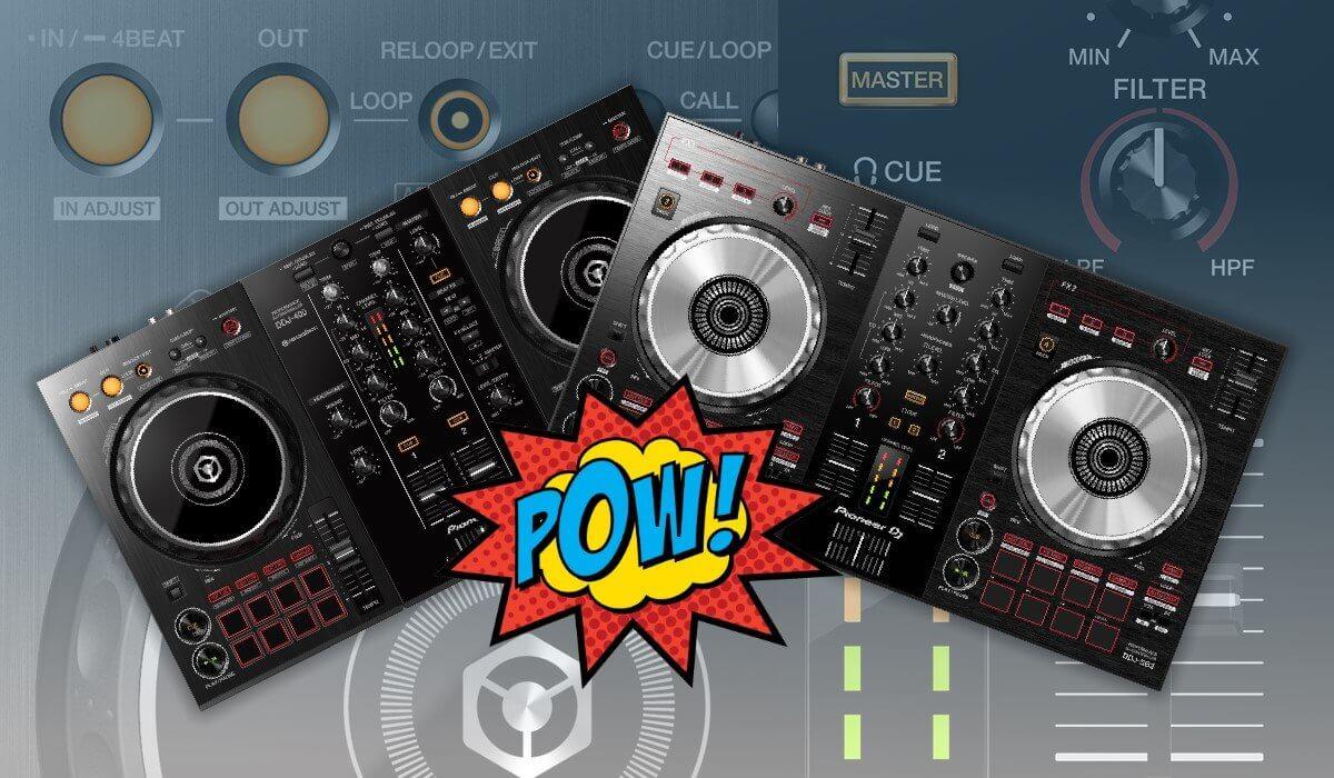 Pioneer DJ DDJ-SB3 Versus Pioneer DJ DDJ-400: Which One To Buy?
