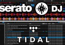 Serato DJ and Tidal