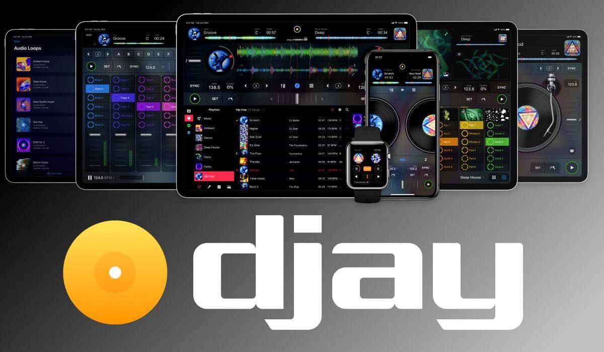 Algoriddim Introduces new djay App For IOS, Adds Subscription Mode